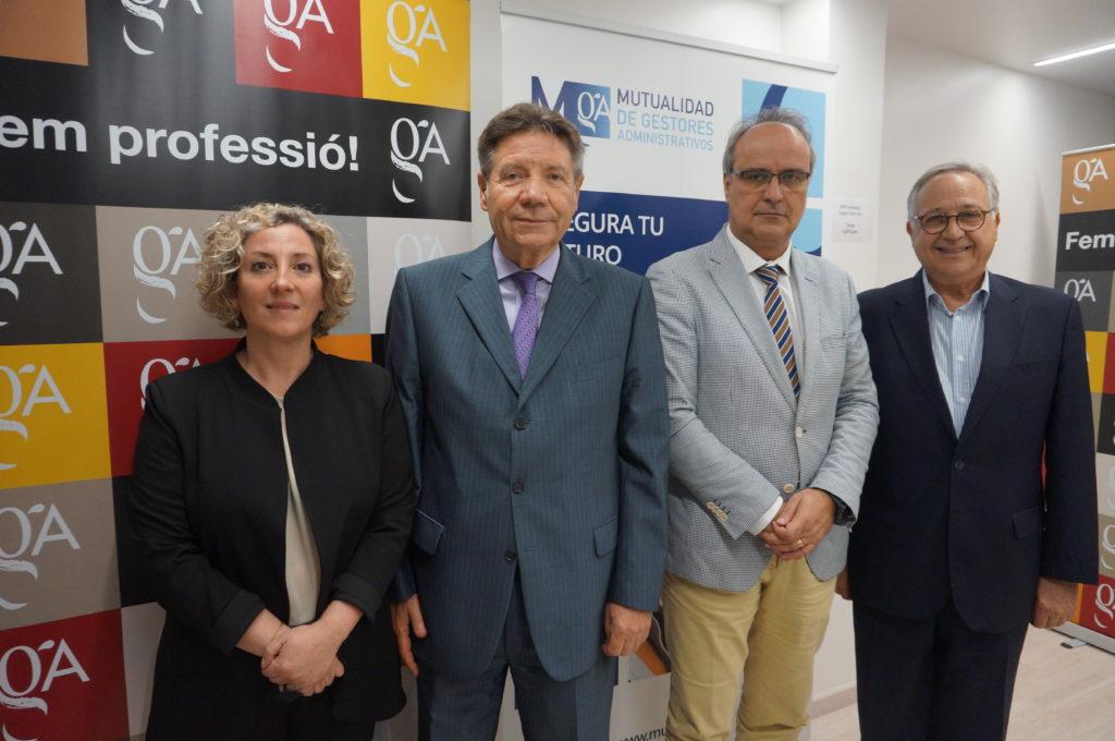 Renovación convenio Mutualidad y Colegio Cataluña